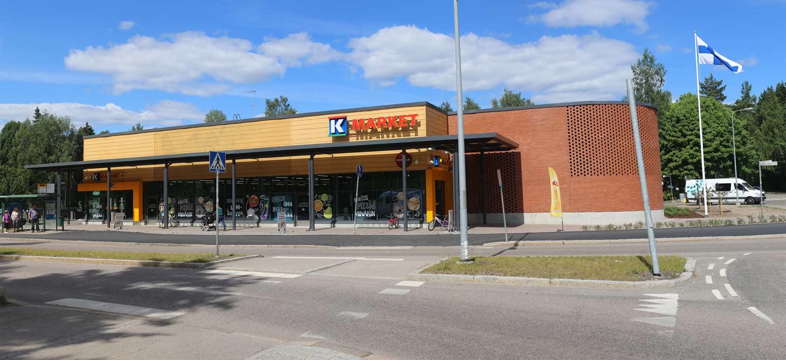 K-Market Oulunkylä, lämmitys- ja käyttövesiputkiston asennukset